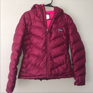 Patagonia puffy down jacket